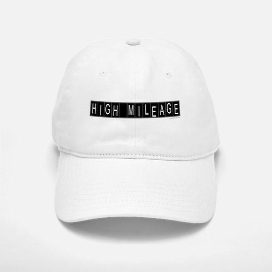 High Mileage Baseball Baseball Cap