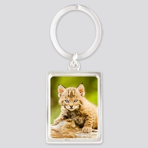 BabyBobcat-Notebook Portrait Keychain