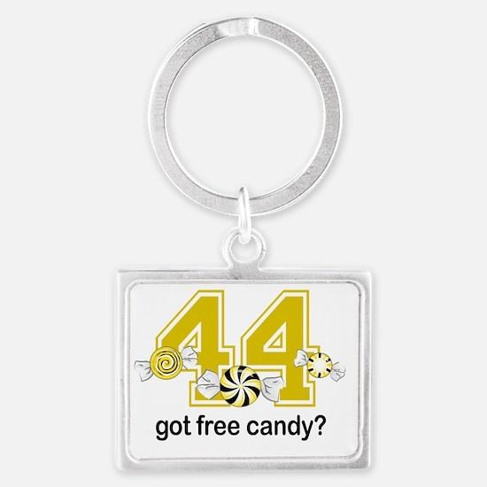 Got Free Candy Yellow Landscape Keychain