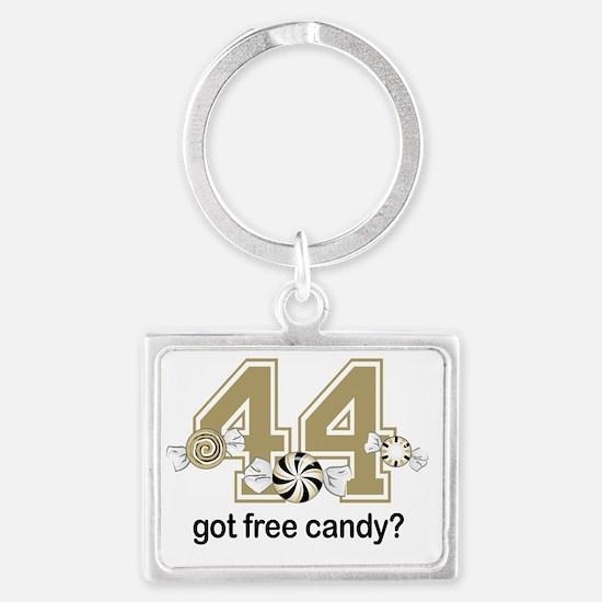 Got Free Candy Gold Landscape Keychain