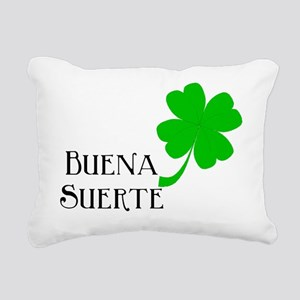 Buena Suerte.Bib Rectangular Canvas Pillow