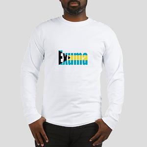Exuma Bahamas Long Sleeve T-Shirt
