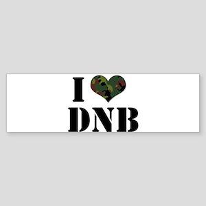 I Heart Drum & Bass Bumper Sticker