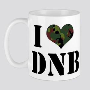 I Heart Drum & Bass Mug