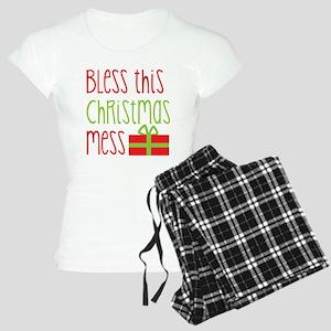 Bless this Christmas MESS! with gift pajamas