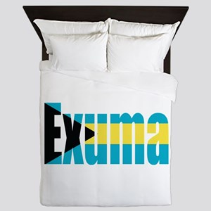 Exuma Bahamas Queen Duvet