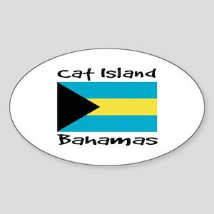 Cat Island Bahamas Sticker