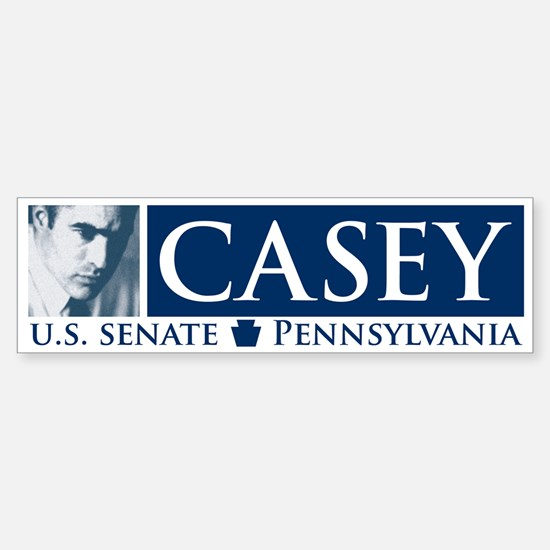 Bob Casey Democrat for US Senate Bumper Bumper Stickers