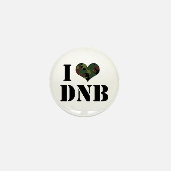 I Heart Drum & Bass Mini Button