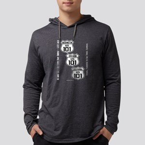 US Route 101 - All States Long Sleeve T-Shirt