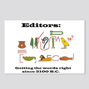 Editors in History Postcards (Package of 8)