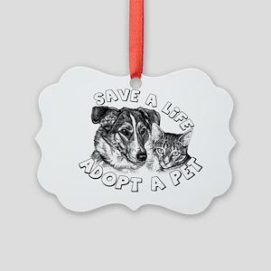 AdoptaPet Picture Ornament
