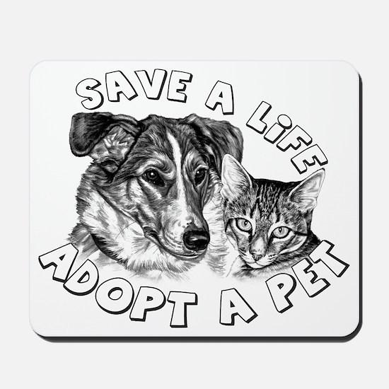 AdoptaPet Mousepad