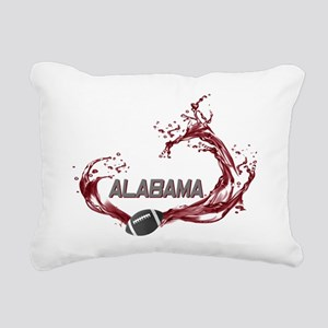 ALABAMA TIDE Rectangular Canvas Pillow