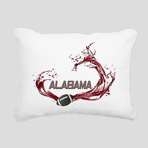 ALABAMA TIDE Rectangular Canvas Pillow