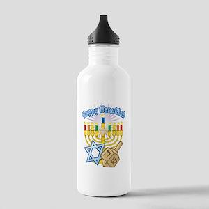 Hanukkah Stainless Water Bottle 1.0L