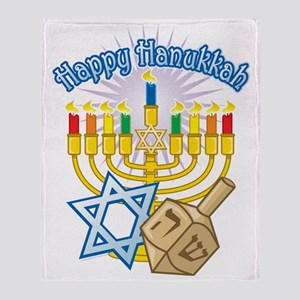 Hanukkah Throw Blanket