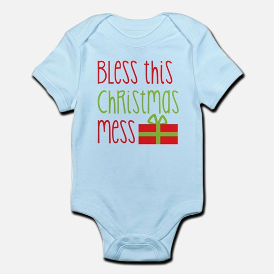 Bless this Christmas MESS! with gift Body Suit