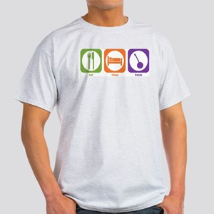 Eat Sleep Banjo Ash Grey T-Shirt