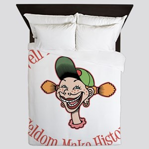 goofy-girl-well-behaved-LTT Queen Duvet