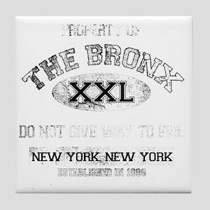 bronx dark Tile Coaster