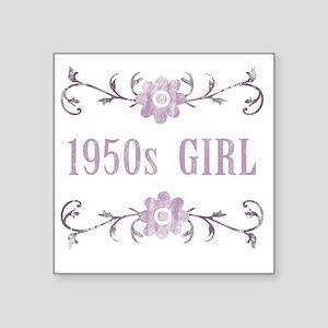 """FlowerGirl1950 Square Sticker 3"""" x 3"""""""