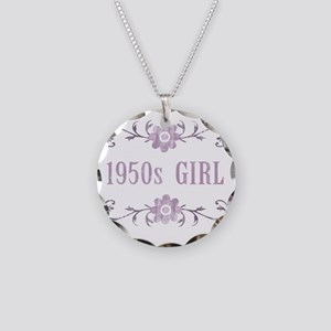 FlowerGirl1950 Necklace Circle Charm