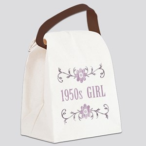 FlowerGirl1950 Canvas Lunch Bag