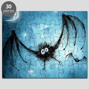 bat_blue_miniposter_12x18_fullbleed Puzzle