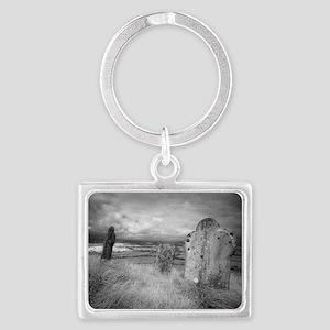 gravehill_miniposter_12x18_full Landscape Keychain