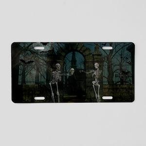 graveyardmeeting_miniposter Aluminum License Plate