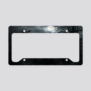 midnightscarecrow_miniposter_ License Plate Holder