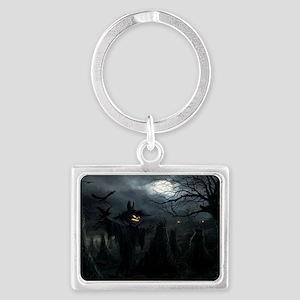 midnightscarecrow_miniposter_12 Landscape Keychain