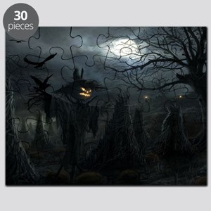 midnightscarecrow_miniposter_12x18_fullblee Puzzle