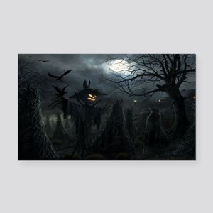 midnightscarecrow_miniposter_ Rectangle Car Magnet