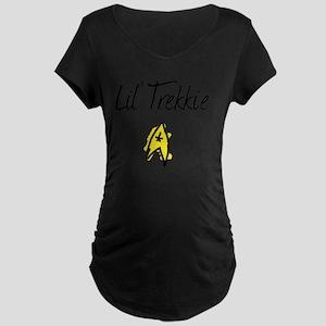 liltrekkie Maternity Dark T-Shirt