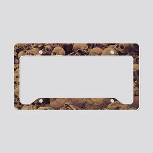 pileofskulls_miniposter_12x18 License Plate Holder