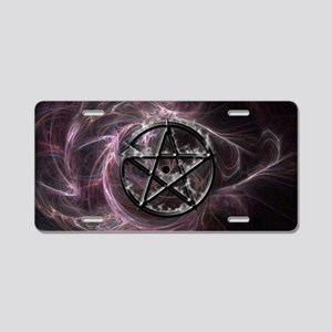 pentagram3_miniposter_12x18 Aluminum License Plate