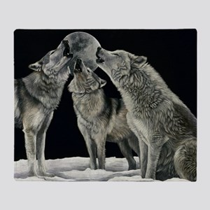 wolfsong_miniposter_12x18_fullbleed Throw Blanket