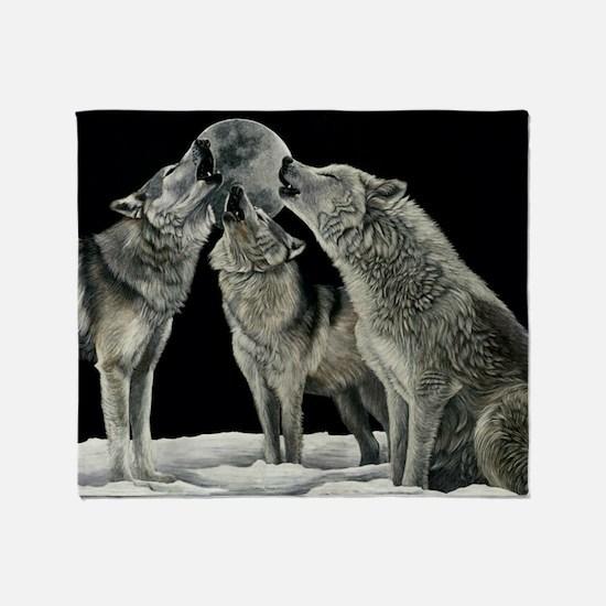 wolfsong_miniposter_12x18_fullbleed Throw Blanket