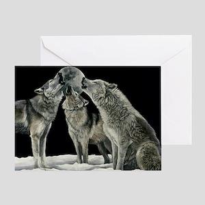 wolfsong_miniposter_12x18_fullbleed Greeting Card
