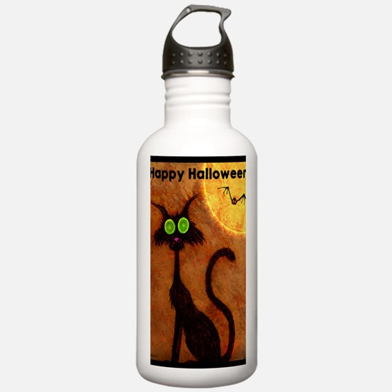 happyhalloweenscardyca Water Bottle