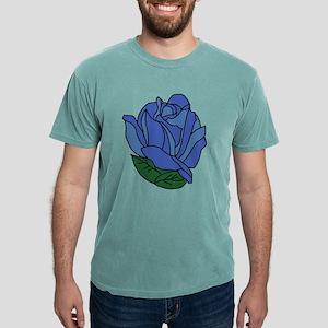 Blue Rose Mens Comfort Colors Shirt