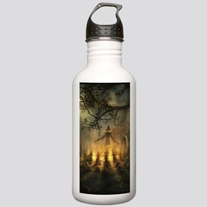scarecrowgatheringvert Stainless Water Bottle 1.0L