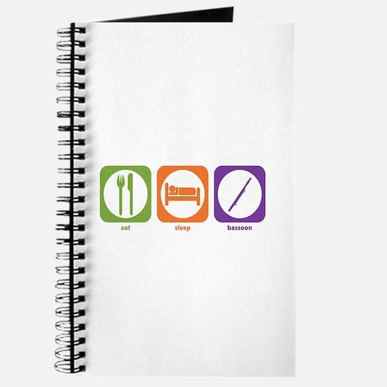 Eat Sleep Bassoon Journal