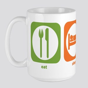 Eat Sleep Bassoon Large Mug
