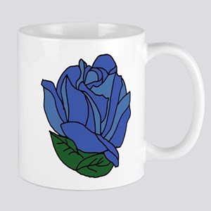 Blue Rose 11 oz Ceramic Mug
