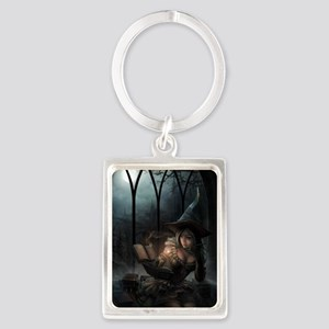 witchpretty_mini poster_12x18-fu Portrait Keychain