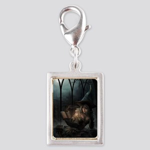 witchpretty_mini poster_12x1 Silver Portrait Charm