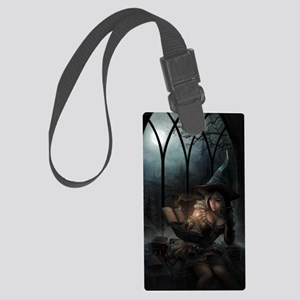 witchpretty_mini poster_12x18-fu Large Luggage Tag